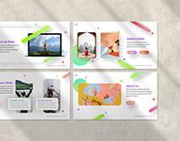 Extrada Creative Pastel Presentation Template