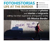 Fotohistorias - Poster and book design