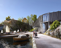 Hyttenabo / Museum competition winner Helen & Hard