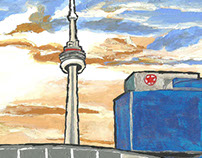 Toronto Landmarks Art