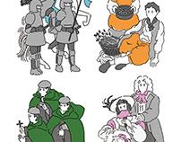 Illustration for card game. 「聖杯サクセション(2016)」