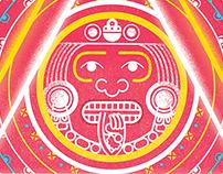 Ilustración Azteca