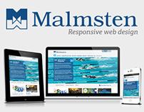 Malmsten - Responsive web design / wireframing