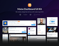 Maise Dashboard UI Kit