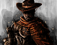 "Character Design VI: ""Cyberpunk Western"""