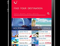 TUI - Travel App