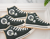 You Move Me Converse Cookies