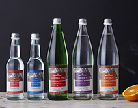 The Fresh Market Mineral Water Packaging Design
