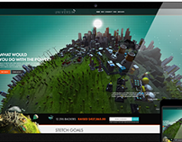 The Universim Website Design