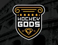 Hockey Gods Tournament Identity
