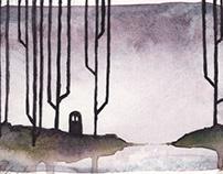 Super Spooky Ghost Paintings