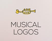 Musical Logos Set