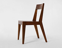 Origami chair & table / Furniture / 2011