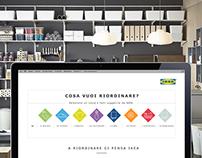 IKEA STORAGE landing page
