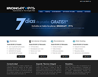 [ IRONSERVERS ] Sitio web
