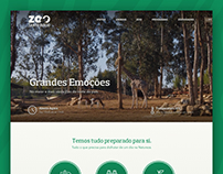 Zoo Santo Inácio Website Redesign
