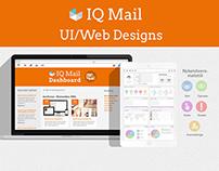 IQ Mail UI layout/Design
