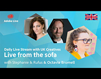 Adobe Live from the sofa UK with Octavia Bromell