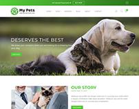 My Pets - Pet Sitter, Pet Shop, Animal Care Shopify The