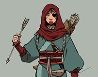Bounty Hunter Character Design