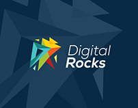 Digital Rocks Logo Work