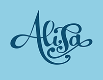 """Alisa"" Lettering Project"