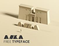 Free Ankh Decorative Font