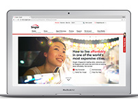Singtel Expat Website