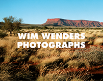 Wim Wenders Photographs exhibition Identity