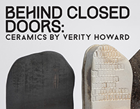 Behind Closed Doors - Exhibition Branding MCDC