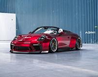 RWB Porsche 911 Speedster   CGI