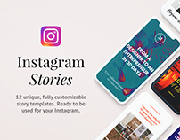 Legend Instagram Template PSD Collection