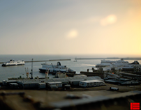 Dover Harbour Time Lapse