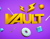 VAULT - delivery branding concept