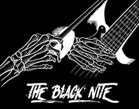 Diseño de Camiseta: The Black Nite (blues)