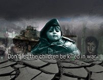 Don't let the children be killed in war