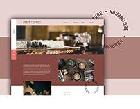 ZOE'S COFFEE - Website