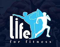 Life for fitness logo