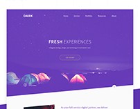 Dark Web Concept
