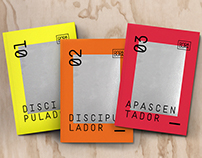 Apostilas de discipulado - Design e diagramação