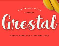 Grestal - Casual Lettering Font