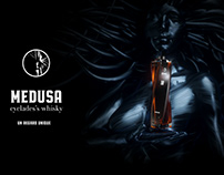 Médusa - 3d packaging & brand identity