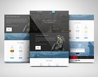 Alibi Here website design