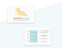 Zanimo'sitting Branding