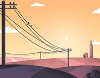 Electricity Pole - 3