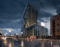 Porsche Design Tower in Frankfurt - Neil Denari