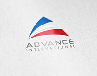 Identidad corporativa Advance International