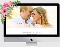 SITIO WEB | ANA CRIS MARCELO