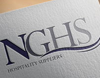 NGHS logo design