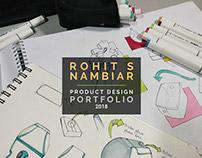 Industrial Design Portfolio - Rohit